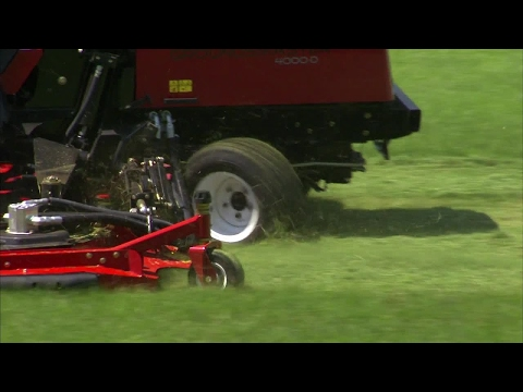 Toro® Groundsmaster® 4000-D – Quality of Cut