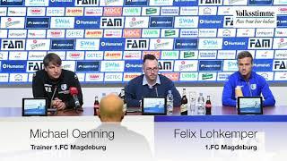 PK vor dem Spiel gegen Berlin