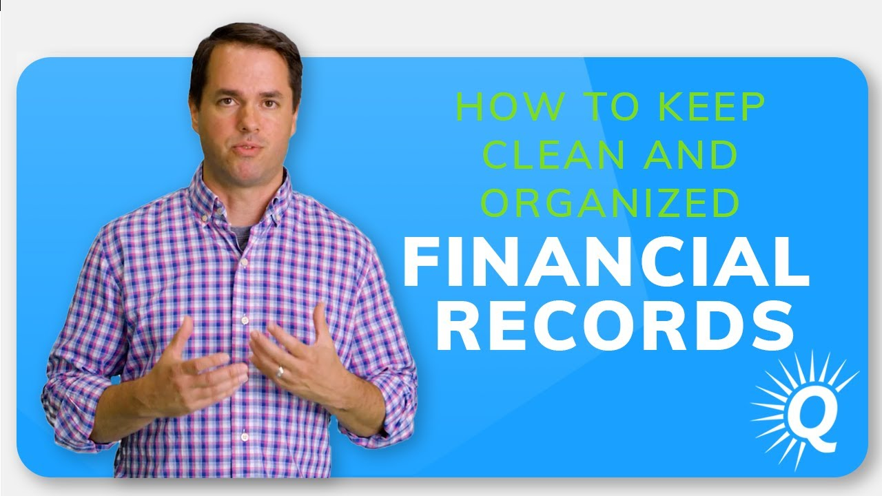How to Keep Clean and Organized Financial Records
