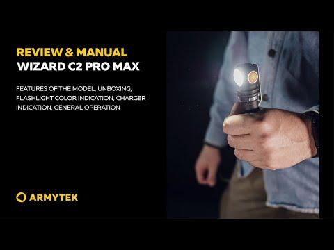 Review & Manual: Armytek Wizard C2 Pro Max