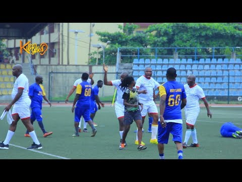 Yemi Solade secured a draw goal for Ogogo all stars, Referee explains penalty