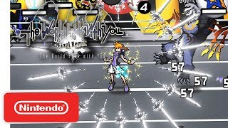 The World Ends with You: Final Remix - Pinning Down Battle - Info Trailer - Nintendo Switch