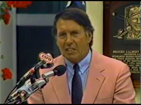 Brooks Robinson 1983 Hall of Fame Induction Speech