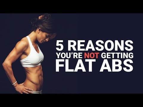 5 Reasons You're NOT Getting FLAT ABS (THIS MIGHT SURPRISE YOU!!)
