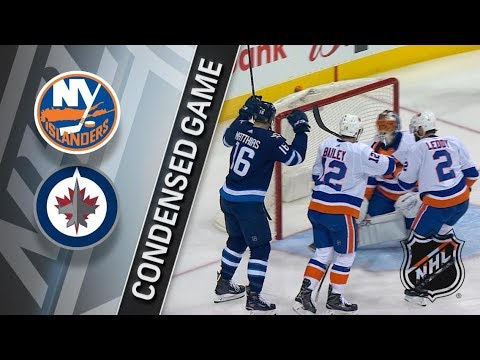 New York Islanders vs Winnipeg Jets – Dec. 29, 2017 | Game Highlights | NHL 2017/18. Обзор матча