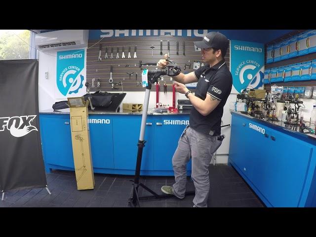 Видео Стойка для ремонта велосипеда PRO Bike Repair Stand
