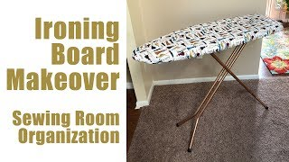IRONING BOARD A MAKEOVER! | How I Jazzed Up My Vintage Ironing Board A Lift