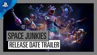 Space Junkies - Full Metal Piano - Release Date Trailer   PS VR