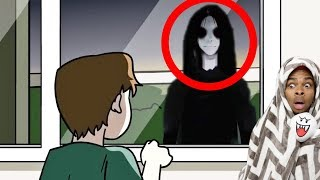 Reacting To True Story Scary Animations Part 10 (Do Not Watch Before Bed)
