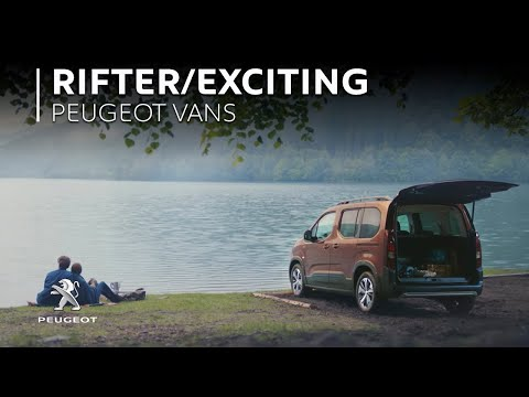 NEW PEUGEOT RIFTER –Exciting Routine