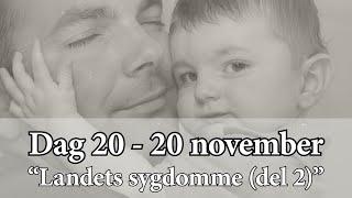 Dag 20 – Landets sygdomme (del 2)