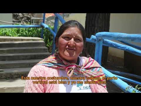 Experiencias de Salud Materna Intercultural Salvan Vidas en los Andes Peruanos