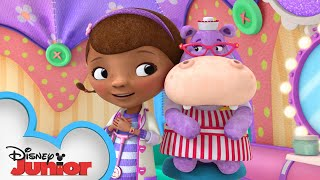 Hallie is the Best Nurse | Doc McStuffins | Disney Junior