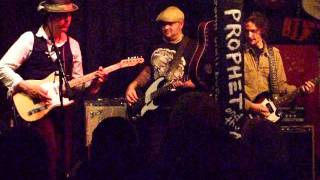 Hot Talk 1-29-12, Chuck Prophet and the Mission Express, Armondos, Martinez CA