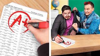 Реакции студентов на результаты экзаменов!