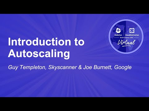 Image thumbnail for talk Introduction to Autoscaling