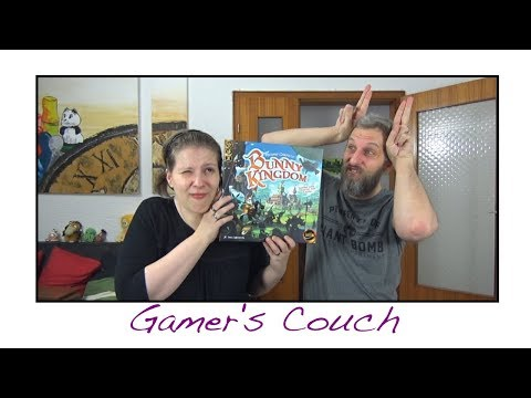 Gamer's Couch # 153 - Bunny Kingdom