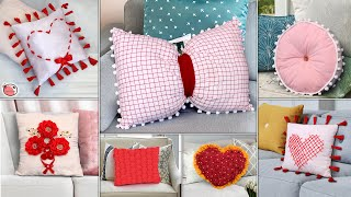 7 Cushion Cover   Old Clothes To New DIY Cushion Making