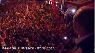 preview picture of video 'Hüseyin Sözlü ve Gazi Adamhasan İmamoğlu Mitingi - 07.03.2014'