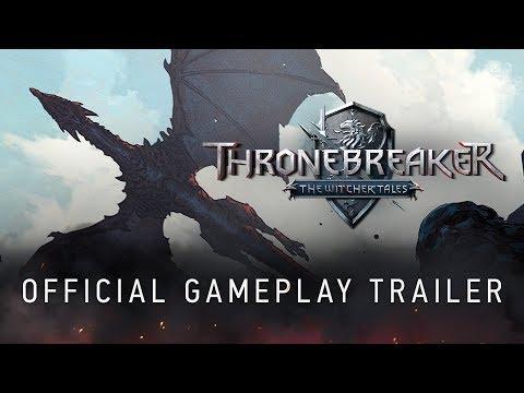 Trailer de gameplay officiel de Thronebreaker : The Witcher Tales