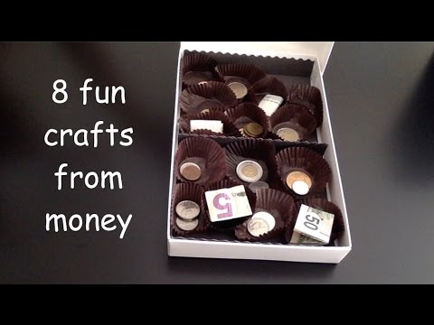 8 Fun Crafty Ideas to Gift Money