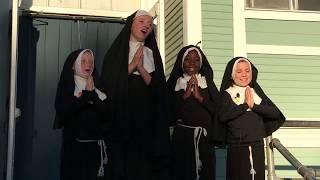 "Sound of Music Scene 2 CLOSEUP: Nuns at the Abbey ""Maria"""