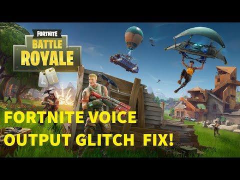 How To Fix Annoying Audio Glitch in Fortnite! (Can't Hear