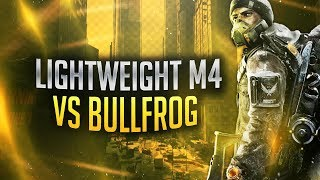 THE DIVISION - BULLFROG VS LIGHTWEIGHT M4 ASSAULT RIFLE COMPARISON! MOST OP GEAR FOR AR'S IN 1.7!