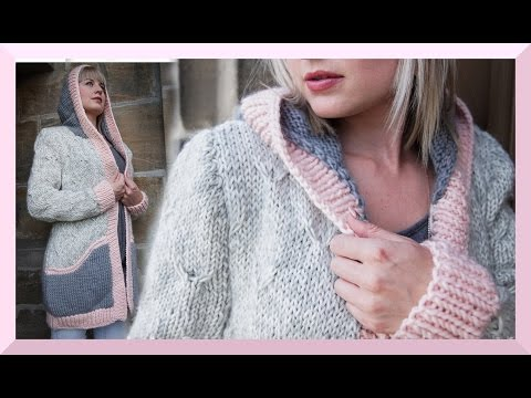 JACKE CARDIGAN STRICKEN ANLEITUNG FRÜHLING 2016 🔷 We are Knitters 🔷
