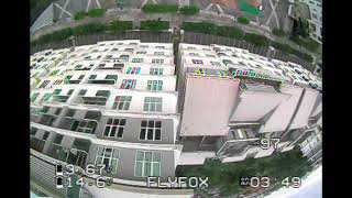 CoviD19 Lockdown FPV flying from Balcony