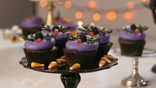 Halloween Cat Cupcakes From DC Cupcakes