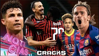 ¡MlLAN REMONTA! lBRA y CRlSTlANO anotan | ¿Neymar o Griezmann? | Vence cláusula de LAUTARO