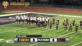 Prairie Grove (40) vs Pea Ridge (16) 2015