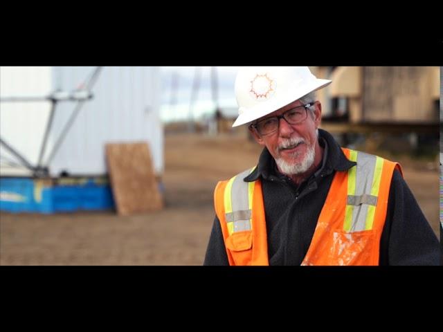 BoxPower's community microgrid project in Buckland Alaska