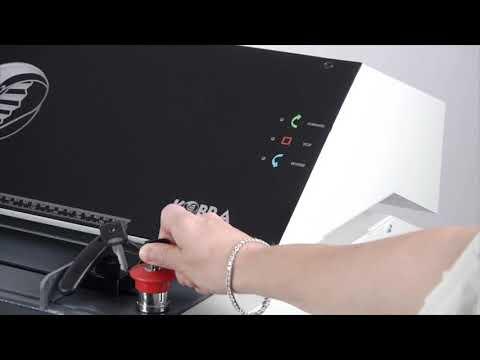 Video of the Kobra FlexPack Shredder
