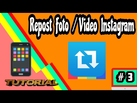 Video Cara Simple Repost Foto/video Instagram Di Android | Tutorial Android #3