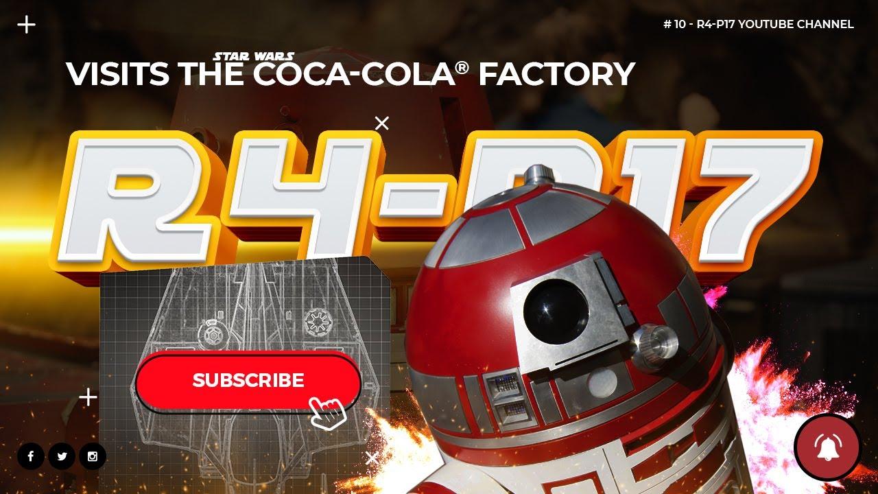 R4-P17 visits the Coca-Cola factory