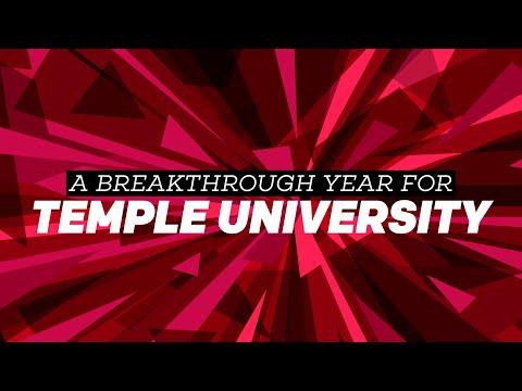 A Breakthrough Year For Temple University