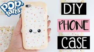 DIY POP-TART PHONE CASE From Scratch!