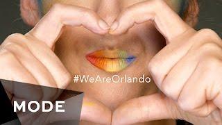 Rainbow Pride Lips #WeAreOrlando ★ Mode.com