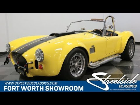 Video of '66 Shelby Cobra located in Ft Worth Texas - QJSF