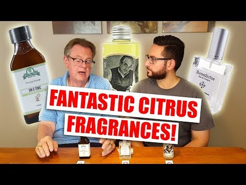3 Citrus Fragrance Recommendations with David Ball!