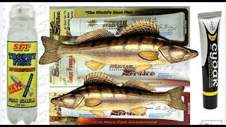 Гель-аттрактант для хищной рыбы mega strike