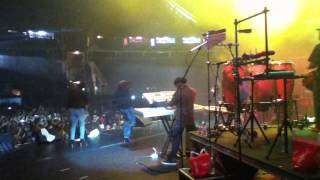 Damian Jr Gong Marley performing Exodus in Dominica at the 2012 World Creole Music Festival
