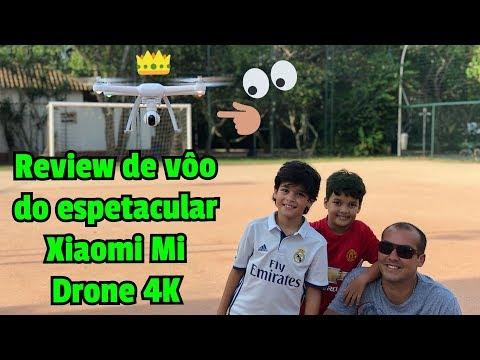 Review de vôo com o Xiaomi Mi Drone 4K Um Espetáculo!