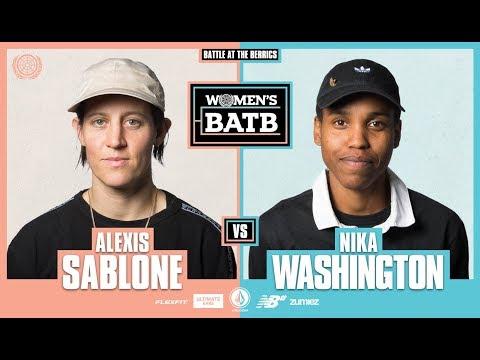 WBATB | Alexis Sablone vs. Nika Washington - Round 1