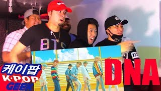 BTS (방탄소년단) 'DNA'  MV REACTION #FANBOYS