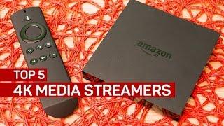 Top 5 4K media streamers (CNET Top 5)