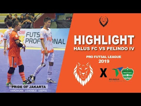 Highlight : Halus FC Vs Pelindo IV Permata ( 2 - 5 ) : Pro Futsal League 2019 ( Pekan 3 )