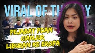 VIRAL HARI INI: Pejabat PDAM Cianjur Piknik ke Eropa saat Ada Wabah Corona, Dapat Sanksi dari Bupati